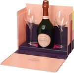 "Шампанское Laurent-Perrier ""Cuvee Rose"" - (Gift Box + 2 glass) Brut"