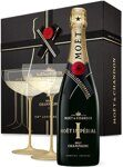 Шампанское Moët & Chandon Brut Impérial - Brut Imperial (Gift box with 2 glasses)