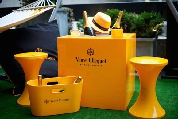Veuve-Clicquot-Celebrates-Yelloweek