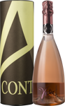 "Игристое вино Spumante ""Victor"" Pinot Rose Brut - Contarini (Gift tube)"